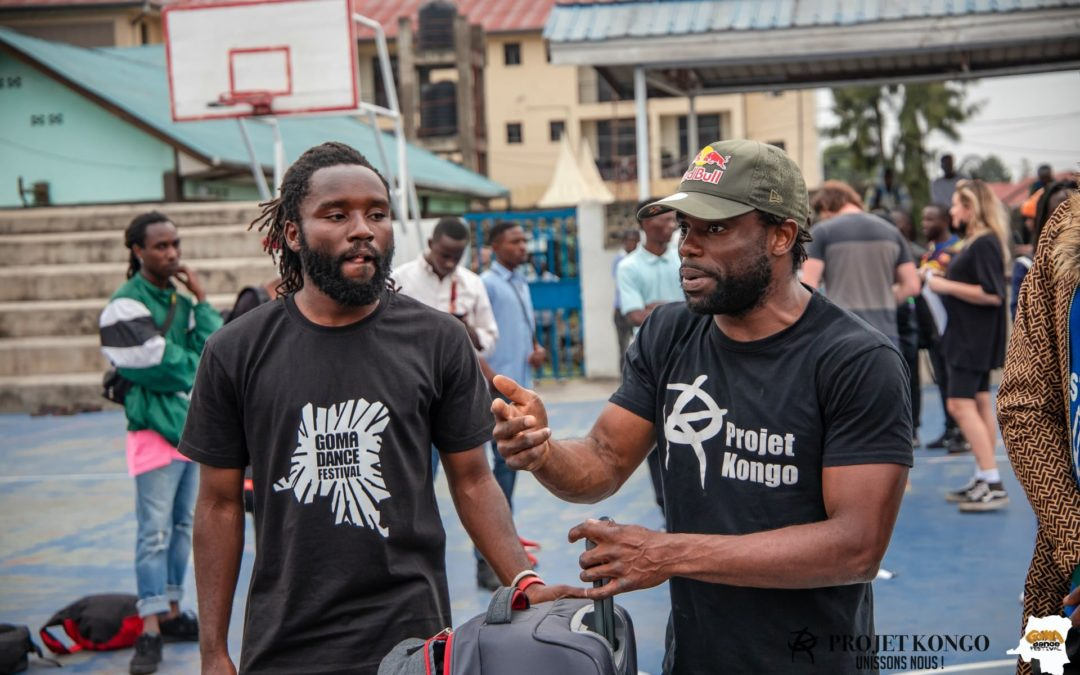 Cypher Avec Bboy Junior & Bboy Shigekix à Goma