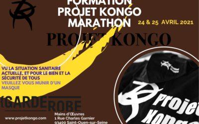 Formation Projet Kongo Marathon 24 & 25 avril 2021